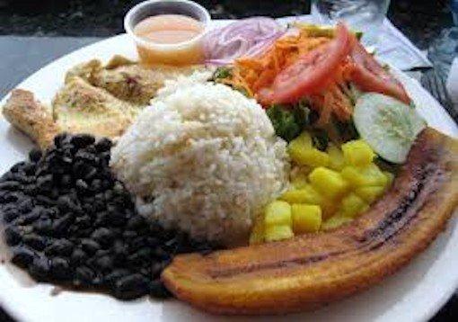 2019 Costa Rica Typical Breakfast